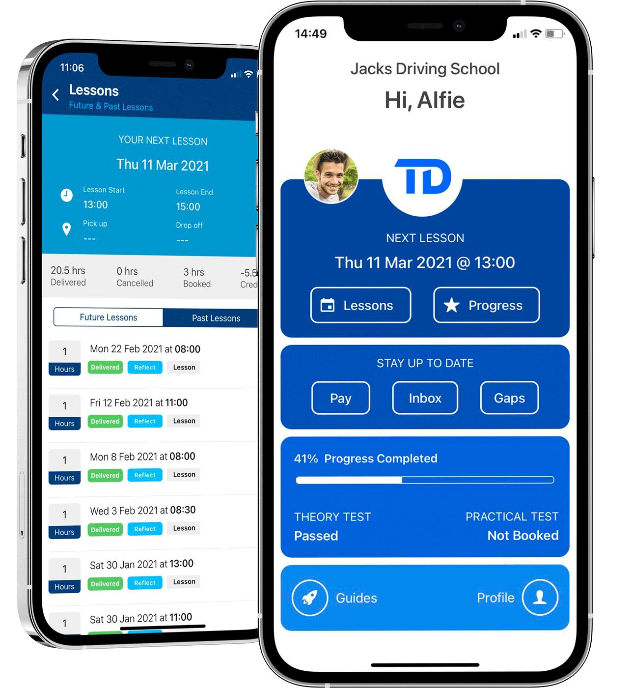 Total Drive Pupil App