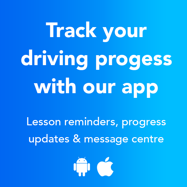 Use the HSM app to Track your Driving Lesson Progress